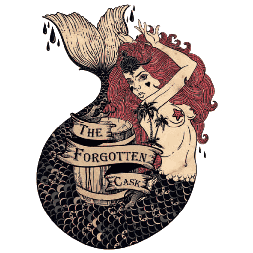 Logo of The Forgotten Cask, rooftop rum, gin & cocktail bar in Waterloo.